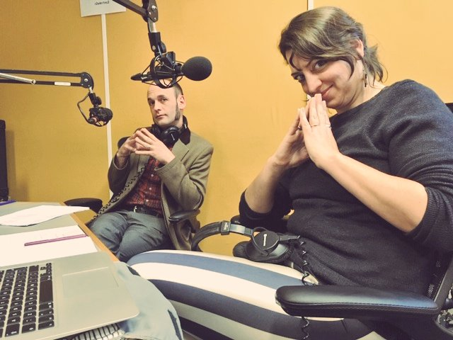 Mark Coverdale and Michelle Madsen on Resonance FM