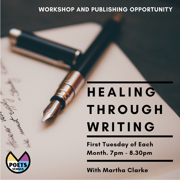 Healing through Writing poster